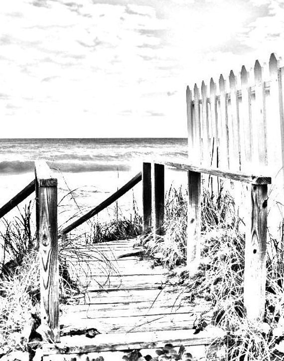 Coloring page beach boardwalk digital download adult