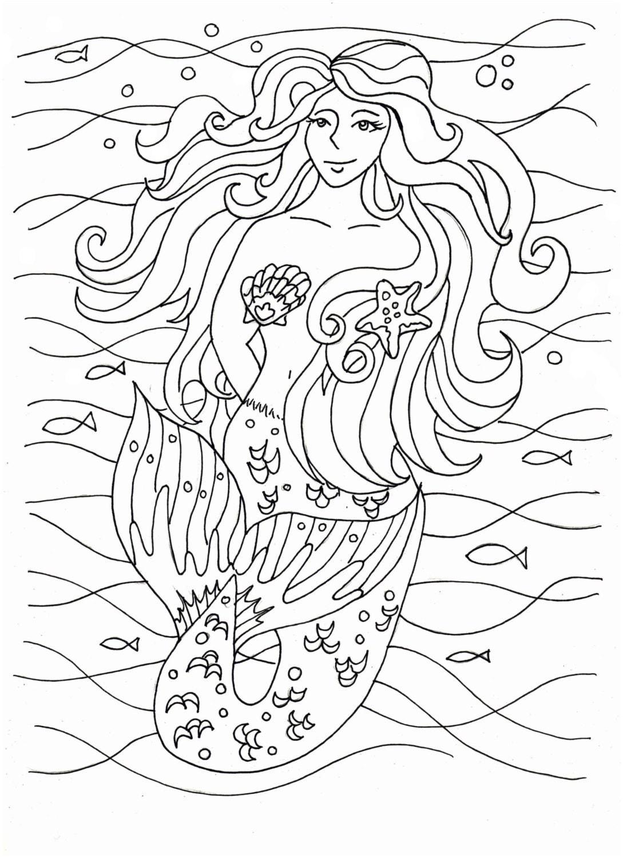 mermaid coloring pages embroidery pattern mermaid art