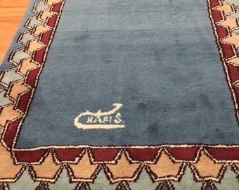 3' x 5' Persian Kerman Oriental Rug - Hand Made - 100% Wool - Modern
