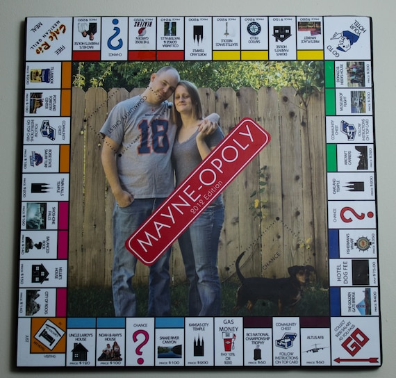 Customised Monopoly Game