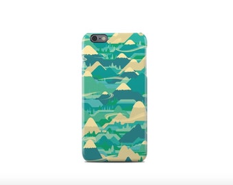 Green Pattern iPhone 6 Case - iPhone 6 Plus Case - iPhone 5 Case - iPhone 5S Case - iPhone 5C Case