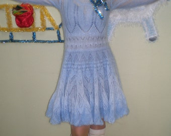 """Knitted dress """"Snowflake"""""""