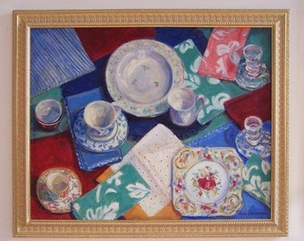 Still Life, Oil Painting, Dining Room Art