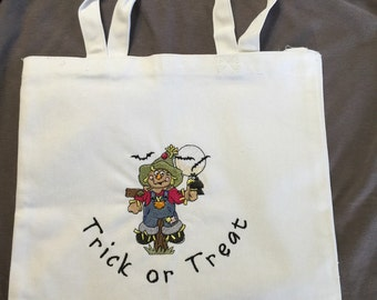Halloween Candy Bag - Scarecrow Trick or Treat