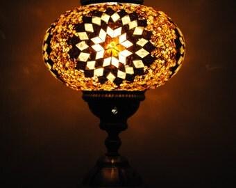 Goreme Gold - Handmade Turkish Table Lamp