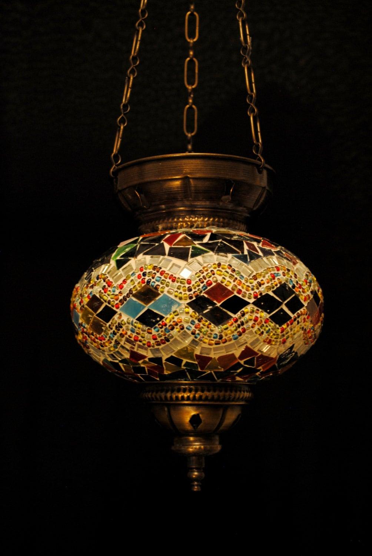 Boz Hanging Turkish Pendant Light