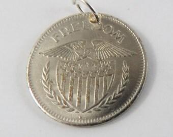 Freedom token Pendant or Charm.