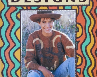 Desert Designs, 26 Knits by Aborigianl Artists (Knitting Book)