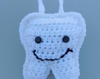 Free Crochet Pattern Tooth Fairy Pillow : Crochet Tooth Fairy Pillow