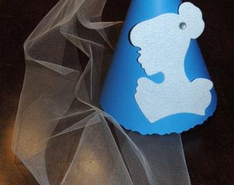 Disney Princess Birthday Party Hat - Cinderella