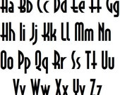 Retro Font, MANY Font Colors, Add On Pet Name Personalization