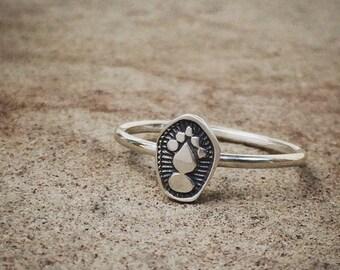 stacking ring - sterling silver rings - tribal rings - unique rings - boho rings - bohemian rings