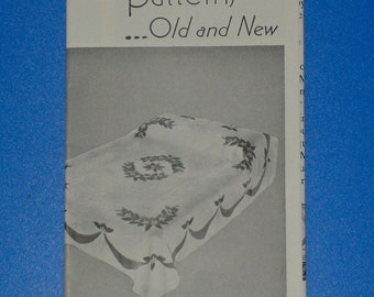 Vintage 1960s Mountain Mist Quilt Patterns Old and New Catalog 40