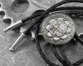 Steampunk Mechanism Ornate Bolo - The Beauty of Each Moment by COGnitive Creations