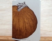 Pumpkin Greeting Cards Farmers Market Letterpress Pack of 8