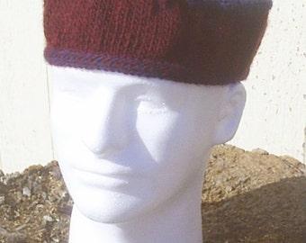 Latvian Braid Cap - Handknitted