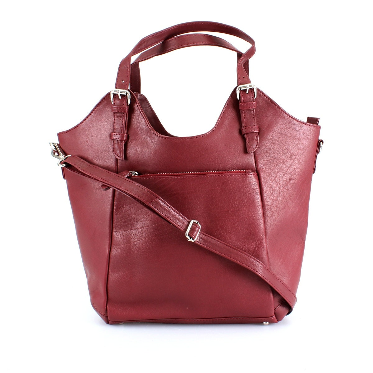 ♥.•*¨♡ RED Leather Tote Bag | Red Tote Bag ♡*¨•.♥ Sputnik classic, Collection Antique An elegant bag for everyday wear. Wear it to work or a night in the city - either way, it's an outfit maker. This designer tote bags roomy interior provides a great storage space for your.
