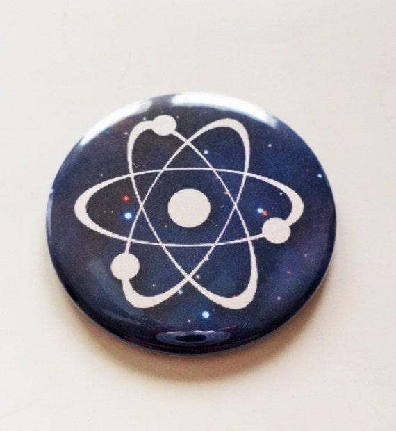 Items similar to Atom Symbol Outer Space Pinback Button OR ...