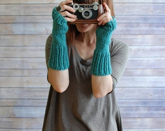 The Alouettes + Knit Arm Warmers + You Choose the Color