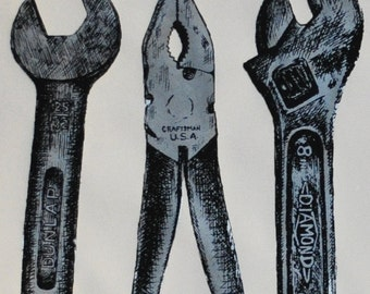 Screen Printed Wrench Set