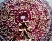 Victorian Style Christmas Tree Skirt (Postage included in the price)