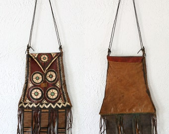 ON SALE African Leather Purse