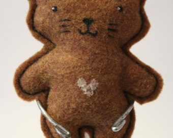 Come with me! Kitty - Small felt plush