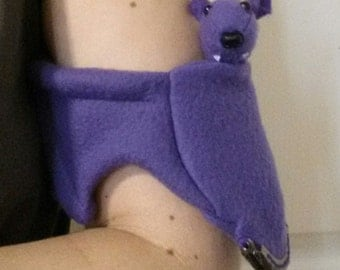 Purple Bat Coin Purse