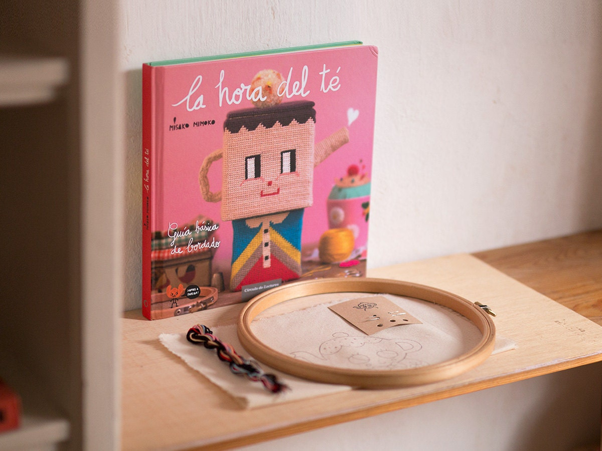 DIY Embroidery Kit Signed Book. Starter by misakomimoko on Etsy