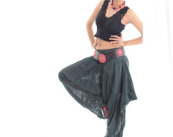 Swirl Funky harem pants 2 Mix silk available in all colours /Funky / hippie / long pants