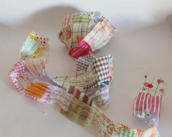 Fabric trim multicoloured 1yard