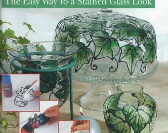 Glass Art - The Easy Way to a Stained Glass Look - by PLAID - AA114