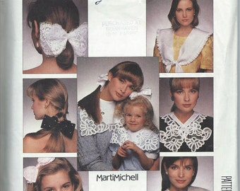 McCall's 3205 Bows and Collars - Vintage Uncut Pattern