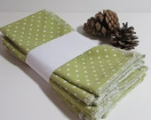 Clearance Everyday Napkin Set / Cloth napkins / luncheon size