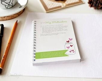 Dream Goal Planner, Inspirational Workbook, Smash Journal - PDF version