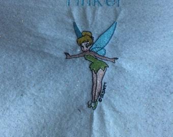 Embroidery tinkerbell etsy fr - Literie fee clochette ...