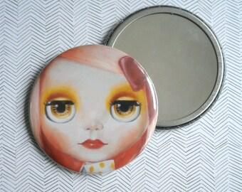 Blythe Doll - Pocket Mirror big eyed art
