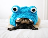 Little Monster Dog Hat - Pug Hat - Dog Costume - Dog Clothing - Pet Accessories - Winter Dog Clothes - All You Need is Pug® - Dog Halloween
