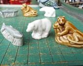 3 Wades Figurines, Red Rose Tea, Animals, Polar Bear, Whale, Mountain Lion