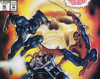Issue 96 Web of Spiderman Comic Book in Near Mint Condition
