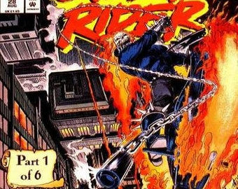 Issue 28 Ghost Rider Rise of the Midnight Sons Comic Book