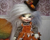 Autumn Witch Outfit for Fairyland Human Realfee bjd abjd Halloween