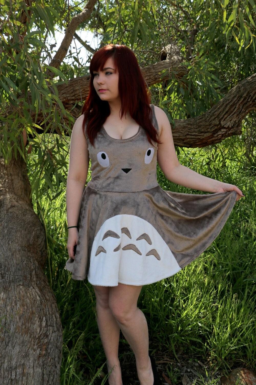 Totoro Skater Dress