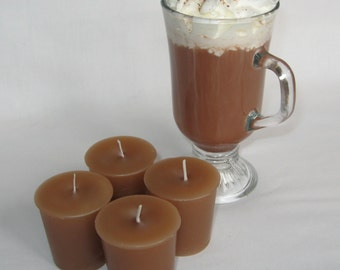 HAZELNUT CAPPUCCINO (4 votives or 4-oz soy jar candles)