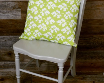 "Throw Pillow - Parsley - Decorative Pillow, Lime Green Pillow - 16"" x 16"""