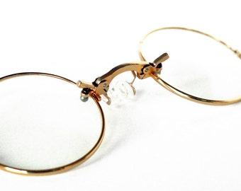 Round Glasses Clear Glasses Cosplay Eye Glasses