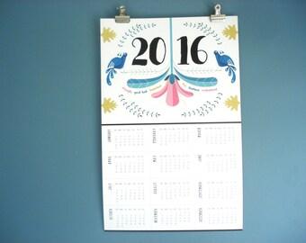 2016 Pennsylvania Dutch poster calendar