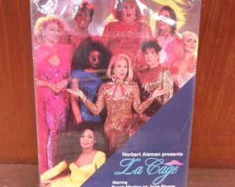 Vintage Closed Riviera Hotel & Casino La Cage Las Vegas Deck of Playing Cards ~Sealed NOS
