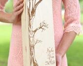 Personalized Wood Wine Box Rustic Wedding, Anniversary, Bridal Shower, Engagement, Housewarming, Christmas Gift (NVMHDA1509)