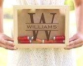 Shot Gun Shell Keeper Ammunition Box Groomsman, Groom, Best Man, Groomsmen, Father of the Bride Gift Fathers Day Christmas (NVMHDA1504)